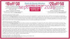 Free Printable Coupons: Bath And Body Works Coupons