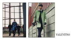 For FW 2015/16 Valentino visits the East End of London: A campaign shot by David Bailey l Love the campaign, love the clothes l #fashion #menswear