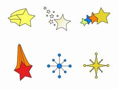 More free Star Clip Art inside page