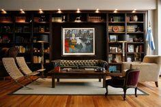 Bookshelf Lighting - Bookshelf Ideas - Living Room & Study Design Ideas (houseandgarden.co.uk)