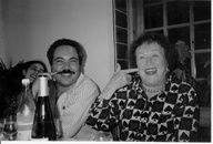 "Sicily 1992: Fred Plotkin Shows Julia how to ""say"" delicious in Italian.   Submitted by Nancy Barr"