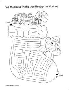 Архив альбомов Christmas Maze, Christmas Arts And Crafts, Christmas Colors, Christmas Holidays, Christmas Worksheets, Christmas Activities, Christmas Printables, Christmas Coloring Pages, Nouvel An