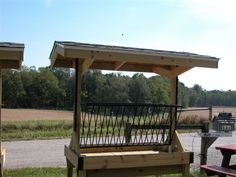 wooden hay feeders for horses - Bing Images