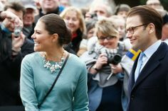 Crown Princess Victoria and Prince Daniel visited the Rathaus in Dusseldorf