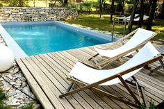 Frankreich Südfrankreich Provence Liegestühle Urlaub Reise