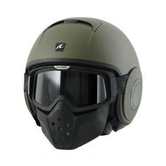 Shark Raw Helmet Integrated Bluetooth and air filtering