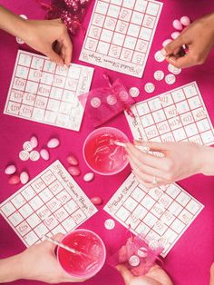 Michaels.com Wedding Department: Girl's Night Out Bridal Shower BINGO Make your bridal shower even more fun with an exciting game of BINGO! This is a great way to get guests of all ages involved.