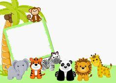 Fondos para invitaciones de baby shower de animales - Imagui