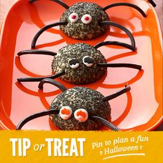 Perfect for Halloween. Cute and yummy!