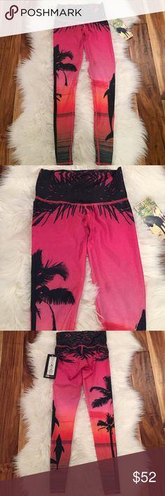 "Teeki Legging Size XS NWT Teeki ""love the adventure"" legging/ hot pant ... brand new with tags.. sorry, no trades Teeki Pants Leggings"