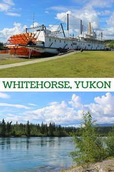 From the picturesque wharf along the Yukon River to the murals, museums and historic buildings downtown, here are the must-see spots in Whitehorse, Yukon. Places To Travel, Places To See, Yukon River, Canada Destinations, Canadian Travel, Visit Canada, Travel Around, The Great Outdoors, Yukon Canada