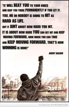 Famous Quote By Rocky Balboa