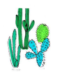 'Cactus' by Helen Murphy