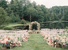 This North Carolina Wedding Gives New Meaning To Pretty In Pink