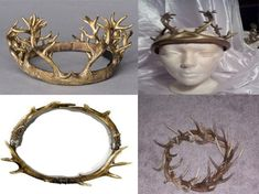 Recycle Reuse Renew Mother Earth Projects: How to make the Game of Throne Antler Horn Crown