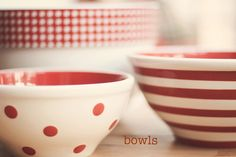 bowls  explored ~ thank you ! by lucia and mapp, via Flickr