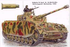 Panzer IV illustration from Osprey by Wolfenkrieger on DeviantArt