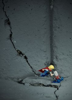 Adventures of LEGO Figures in Real Life #LEGO