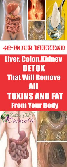 Weekend Liver, Colon and Kidney Detox That Will Remove All The Toxins and Fat From Your Body - natural health magazine Liver Cleanse, Liver Detox, Body Detox, Cleanse Detox, Colon Detox, Detox Cleanses, Colon Health, Body Cleanse, Health And Wellness