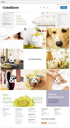 The popular #Grid based #website #layout  83oranges.com