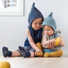 Knitting pattern for pixie hat (norwegian and english version)