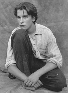 christian bale young