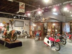 A variety of classic bikes are on display in several rooms, including a rare 1949 Australian model. Miami Oklahoma, Route 66 Oklahoma, Historic Route 66, Vintage Iron, Classic Bikes, Best Western, Willis Tower, Scooters, Hotels And Resorts