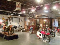 Classic Bikes on display along Route 66. Miami, Oklahoma  #route66