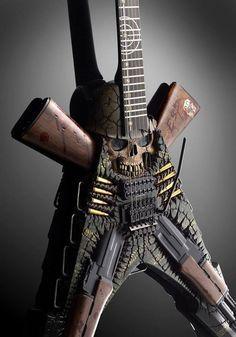 ESP Guitars Custom Shop Snake | 6 Strings | Pinterest | Esp ...