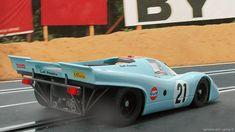 24 heures du Mans 1970 - Porsche 917K #21- Pilotes : Pedro Rodriguez / Leo Kinnunen - Abandon