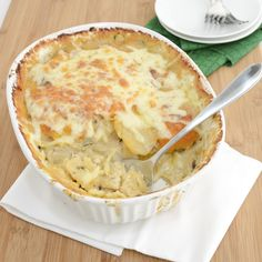 Growing up my mom would make scalloped potatoes from the box all the time. We always went crazy when she would pull this side dish out of the oven. They tasted great, but I never knew what I was mi...