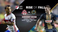 SPORTS And More: #ESPN2 live #MLS playoffs #TorontoFC -1- #Philadel...