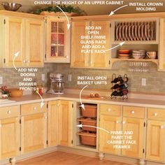 Cabinet Facelift  Six simple, attractive kitchen upgrades you can do yourself—without replacing your cabinets