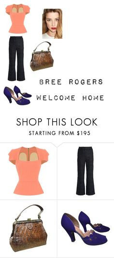 """Welcome Home"" by jdefloria on Polyvore featuring Roland Mouret and Erdem"