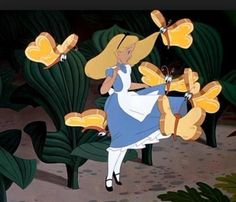 Bread & Butterflies Alice in Wonderland Disney