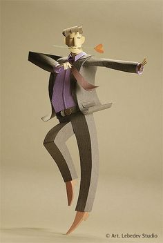 Paper Sculpture by artist duo Alexei Lyapunov and Lena Ehrlich.