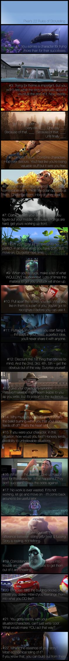 Dino Ignacio Pixar 22 Rules For Screenplay Writing Emma Coats>>Can also help with writing and story plotting