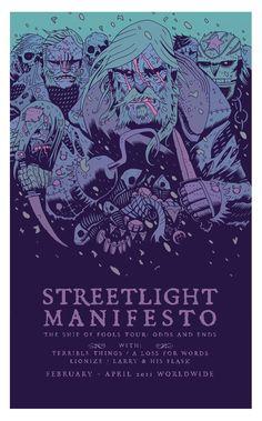 Dan Hipp: Streetlight Manifesto