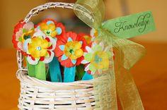 Basket of bookmarks