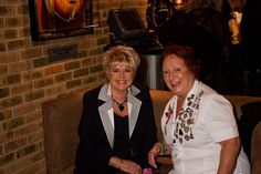 Rita and Gloria Hunniford! #hardrock #pinktober #Manchester