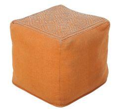 Capella Pouf - Orange