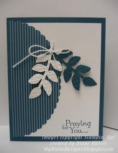 Garden Prayer by Diane Malcor - Cards and Paper Crafts at Splitcoaststampers