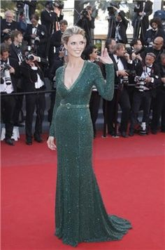 #SylvieTellier, de #AndrewGn en verde esmeralda