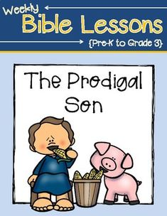 This packet includes activities about the story of the Prodigal Son. Students will read the actual scripture, learn a key verse, complete an activity page, complete interactive notebook pages and do a fun craft! This pack includes activities for preschoolers up to grade three!