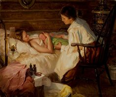 """Loren Entz """"The Midwife"""". This piece is such an amazing inspiration."""