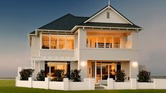 eHomeBuilder likes The Bogart Display Home by Broadway Home- if kinda reminds me of a slimmed down Hamptons mansion