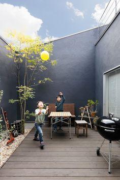 Small Backyard Design, Small Backyard Gardens, Balcony Design, Interior Balcony, Interior Garden, Home Interior Design, Asian House, Casa Patio, House On The Rock