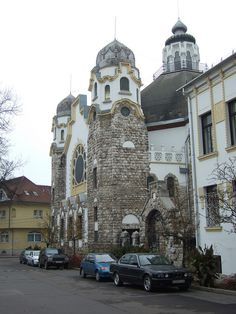 Former Kőbánya Synagogue, Budapest (now a church).