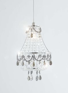 Chrome Claudette Easy to Fit Ceiling Light - BHS