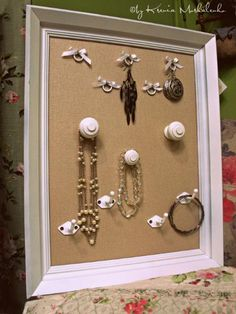 ways to make home decorations with cabinet knobs